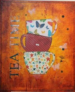 Teatime_Collage art